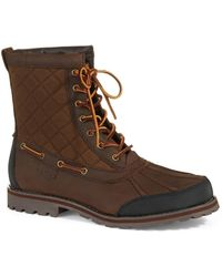Polo Ralph Lauren Whitehill Quilted Duck Boots - Lyst