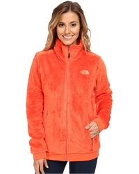 The North Face Orange Mod-Osito Jacket - Lyst