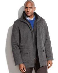 Calvin Klein | Heavyweight Wool-blend Overcoat | Lyst