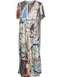 Henrik Vibskov Knee-Length Dress white - Lyst