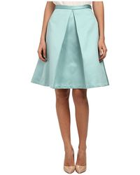 Tibi Pleated Skirt - Lyst