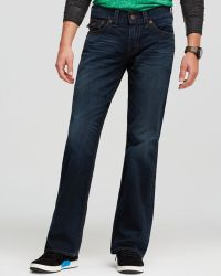 True Religion Jeans Billy Bootcut in Midnight Pass - Lyst