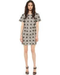Jill Stuart Rachel Dress Cream - Lyst