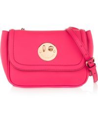 Hill & Friends - Happy Mini Textured-leather Shoulder Bag - Lyst