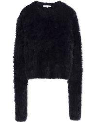 Carven | Long Sleeve Sweater | Lyst