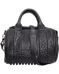 Alexander Wang Rocco Leather Bag - Lyst