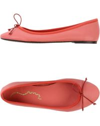 Penelope Ballet Flats - Lyst