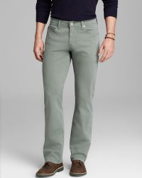 Ag Adriano Goldschmied Jeans Protégé Sud Straight Fit in New Navy - Lyst