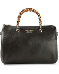Gucci Bamboo Handle Shopper Tote - Lyst