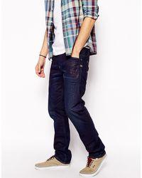 G-star Raw Raw Dark Wash Straight Jeans - Lyst