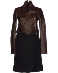 Edun Coat brown - Lyst