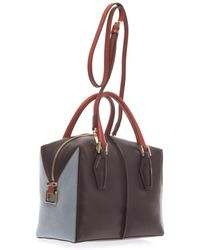 Tod's Dcube Small Leather Bowler Bag - Lyst