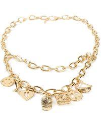 Moschino Charm Chain Belt - Lyst