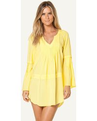 ViX Solid Yellow Ruby Caftan Solid Yellow Ruby Caftan yellow - Lyst