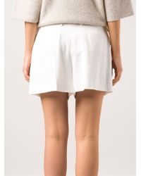 Chloé High Waisted Shorts - Lyst