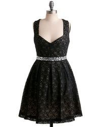 Monteau Inc | Eyelet Up The Room Dress | Lyst