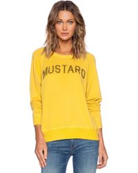 Daydreamer - Mustard Sweatshirt - Lyst