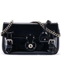 Ralph Lauren Ricky Chain Bag black - Lyst