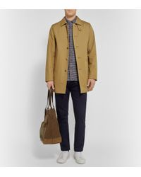Mackintosh Laggan Cotton Rain Coat - Lyst