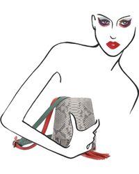 Nasha | Natural Python Skin Backpack | Lyst