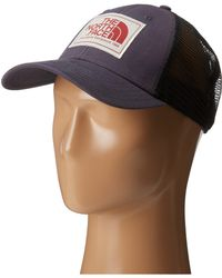 The North Face Mudder Trucker Hat W/ Logo Patch - Lyst