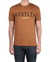 DSquared² Cotton T-Shirt T-Shirt Hustler Print - Lyst