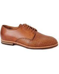 Hudson Hadstone Weave brown - Lyst
