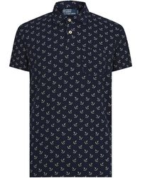 Polo Ralph Lauren Anchor Printed Polo Shirt - Lyst