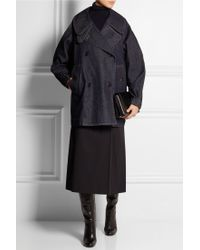 Christophe Lemaire - Oversized Denim Coat - Lyst