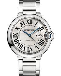 Cartier Ballon Bleu De Stainless Steel Watch - For Men - Lyst