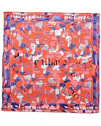 John Galliano Square Scarf - Lyst