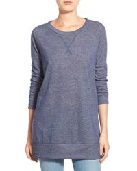 Pleione | Space Dye French Terry Lightweight Tunic | Lyst