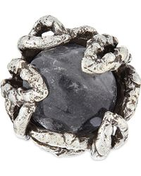 Koche - Rock Crystal Ring - Lyst