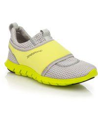 Cole Haan Zerogrand Neoprene & Mesh Sneakers silver - Lyst