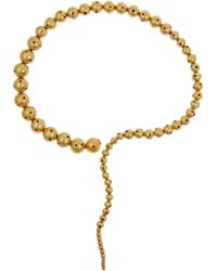 Paula Mendoza Glaucus Gold-plated Necklace - Lyst