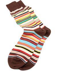 Paul Smith Classic Multi-stripe Socks - Lyst
