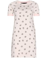 Marc By Marc Jacobs Playing Cards Printed Sweatshirt Dress - Lyst