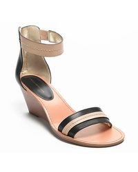 Tommy Hilfiger Ankle Strap Mini Wedge - Lyst