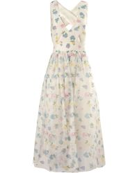 Vilshenko Multi Silk Organza Florentina Dress - Lyst