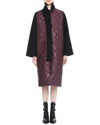 Maiyet Purple Quilted Coat - Lyst