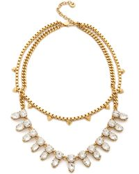 Juicy Couture - Haute Hue Gemstone Double Layer Necklace - Lyst