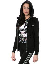 Adidas The Slim Zip Hoodie - Lyst