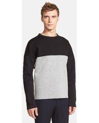 Marni Colorblock Crewneck Sweatshirt - Lyst