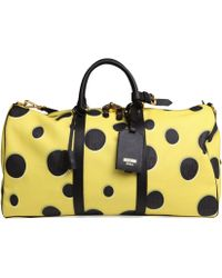 Moschino Spongebob Weekender Bag - Lyst
