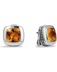 David Yurman Albion Earrings with Citrine - Lyst
