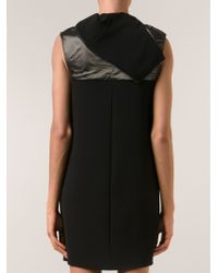 Paco Rabanne Mock Hood Dress - Lyst