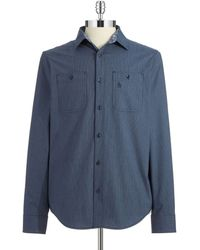 Original Penguin Striped Sport Shirt - Lyst