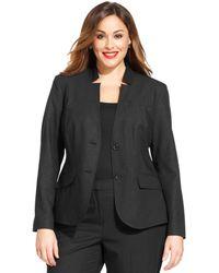 Jones New York Collection Plus Size Olivia Two-button Blazer - Lyst