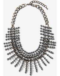 Nasty Gal Leanna Collar Necklace - Lyst