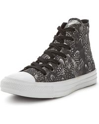 Converse Ctas Feather Photo Real Hi Top Trainers - Lyst